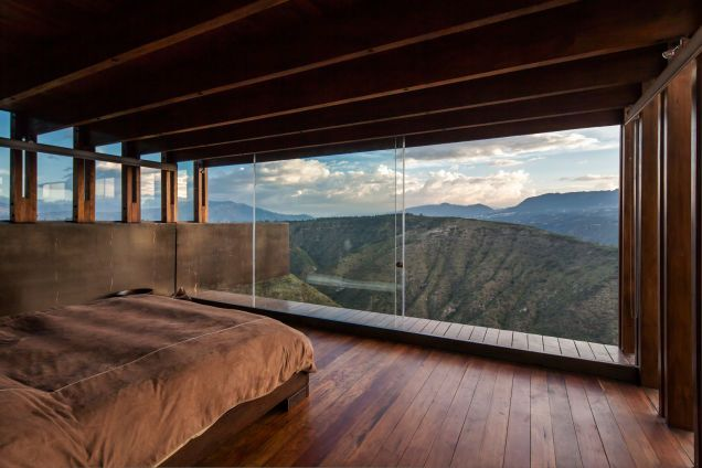 Add this spectacular house to your list of dream homes.  Located in the mountains of Puembo, Ecuador.