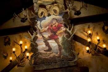 Gaston's Tavern at new Fantasyland!