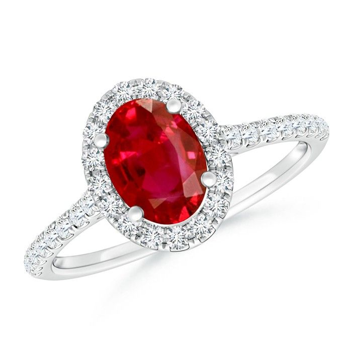 Angara Secured Prong Natural Ruby and Diamond Double Halo Ring RRrDX6Fr