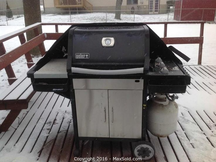 MaxSold - Auction: Amherstview Downsizing Online Auction - Weber BBQ sold for $390