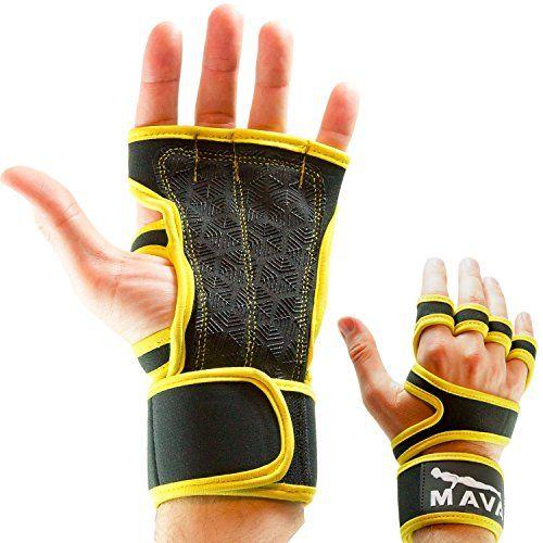 Mava Fitness Gloves: Mava Pull Up Bar Gloves For Cross Training Bar Workouts
