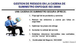Norma ISO 28000:2007 - Enfoque de gestion de riesgos para la cadena d…