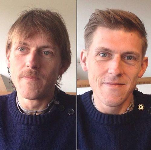 men's short haircut for thinning hair