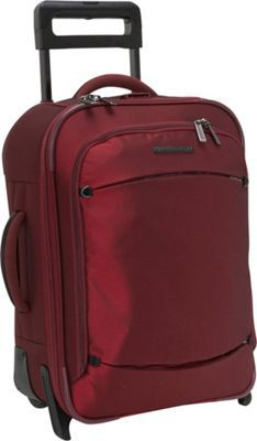 "Briggs and Riley 19"" transcend suitcase.  Looks ideal for international travel,with a lifetime guarantee."