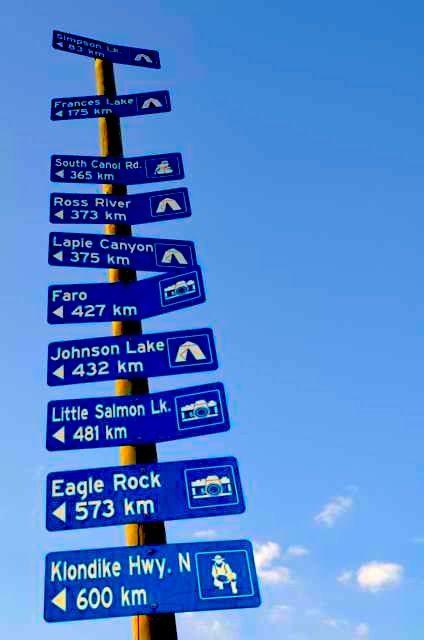 Sign Post Forest - Watson Lake, Yukon