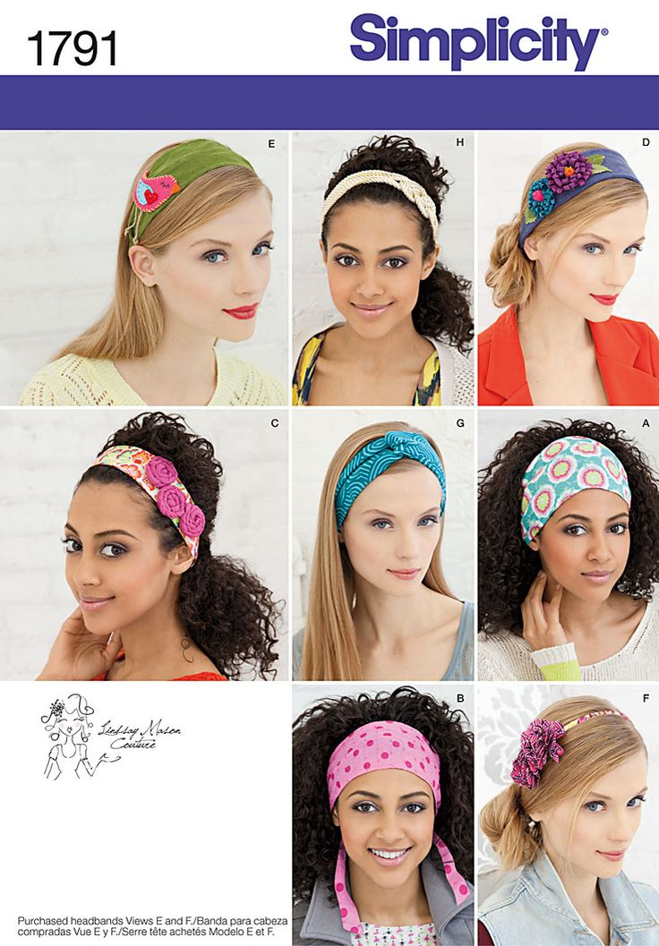 Simplicity Creative Group - Misses' Hair Accessories: