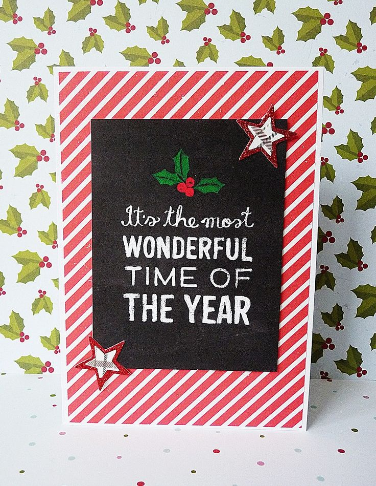 the most wonderful time card
