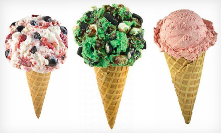 Groupon - Two or Four Ice-Cream Cones with Two Mix-Ins or 3 Quarts of Take-Home Ice Cream at Marble Slab Creamery (Up to 54% Off). Groupon deal price: $7.00