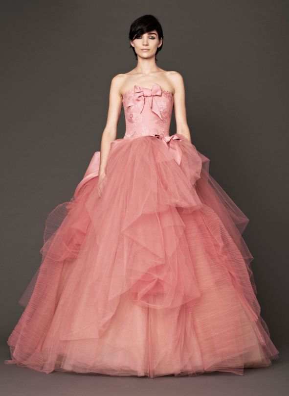 The 208 best Pink/Blush Wedding Gown images on Pinterest | Blush ...