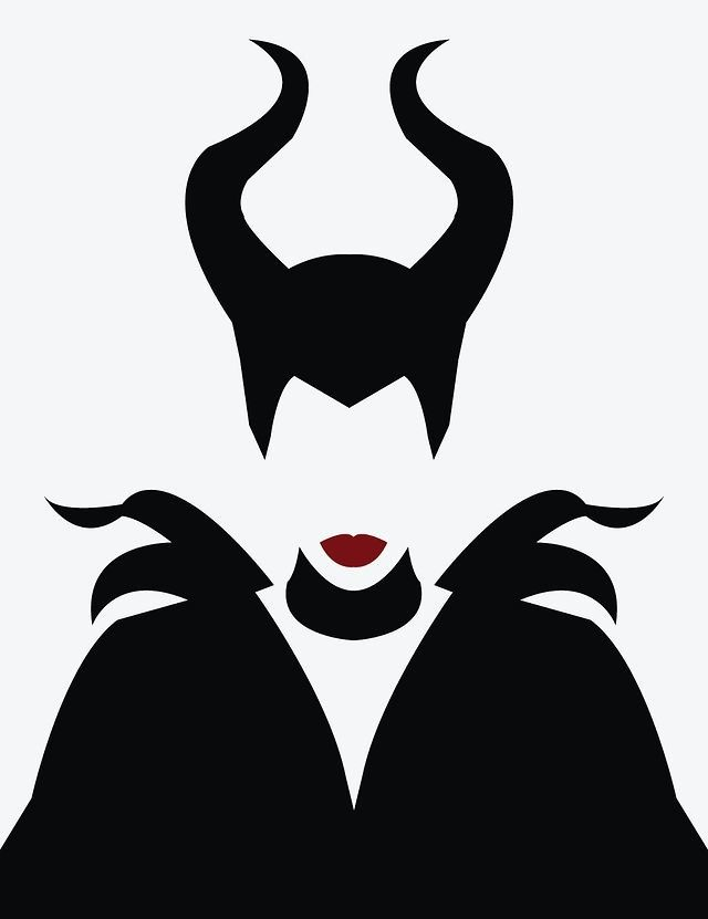 Maleficent. #illustration #vector                                                                                                                                                                                 Más