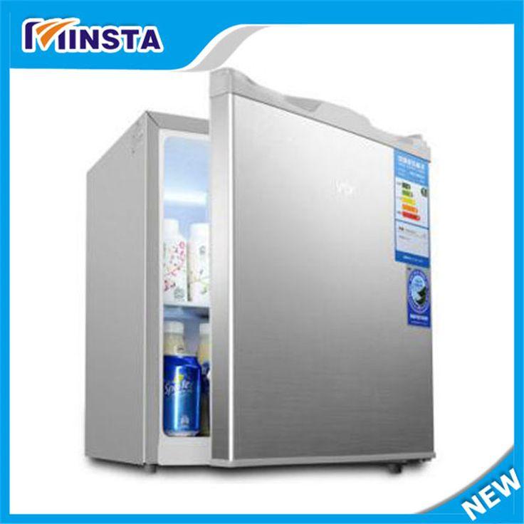 50L frigorifero Mini frigorifero di casa dormitorio frigorifero caldo-freddo duplice scopo di refrigerazione frigorifero