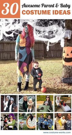 What better way to fully enjoy Halloween with your baby is there than being a part of their costume idea? Get your creative juices flowing with this list of frightfully-fantastic costumes designed for parent and child!