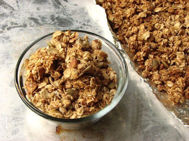 Tahini Honey Granola