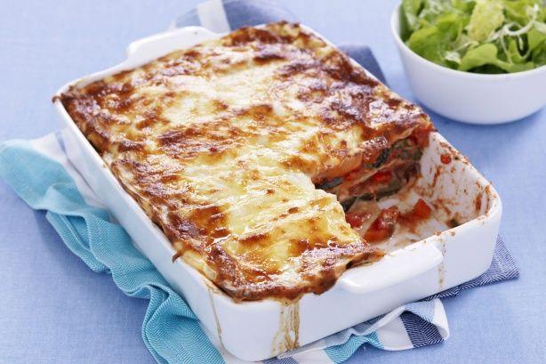 bake.Veggies Lasagna, Baked Pasta, Winter Pasta, Vegetables Lasagne ...