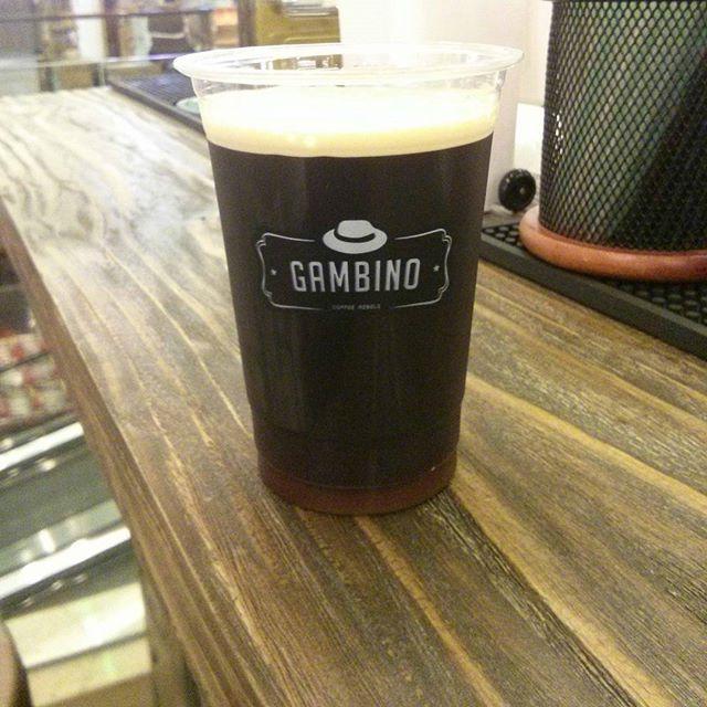#Coldbrew on the spot, with nitro technology. Find out this beauty at Gambino, Mal Kota Kasablanka, Rp 35,000  #☕ #coffee #kopi #Indonesia #indonesiamenyeduh #ziarahkopi #kopiseduhpakaimesin #kbkjakarta