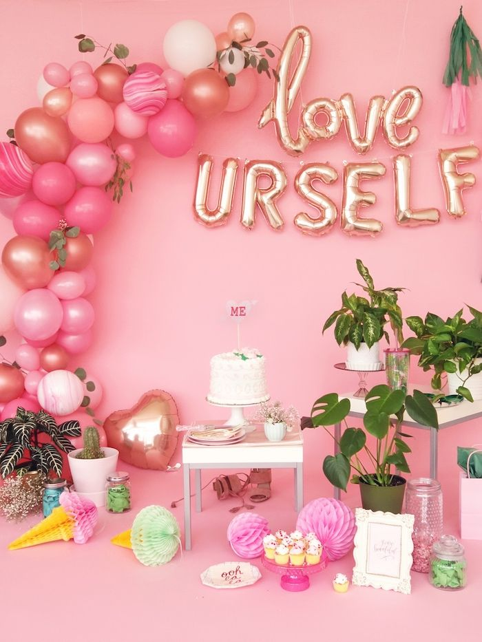 Love Yourself Valentine S Day Party Valentines Party Ideas