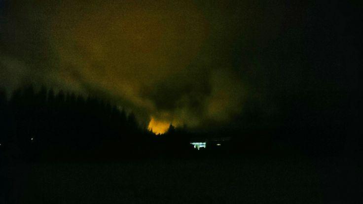 2. Pilvet illan hämärässä...