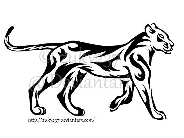 Line Drawing Of Lion : Best elegant lion outline tattoos images tattoo
