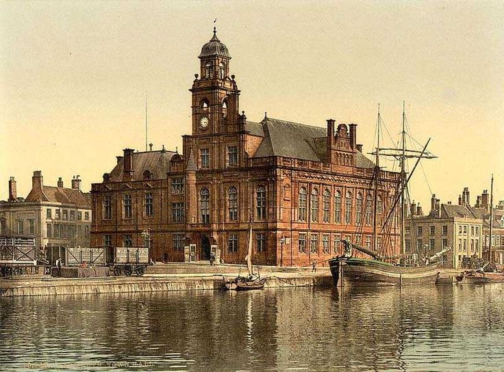 Gorleston High Street Norfolk | norfolk great yarmouth town hall in the 1890 s norfolk