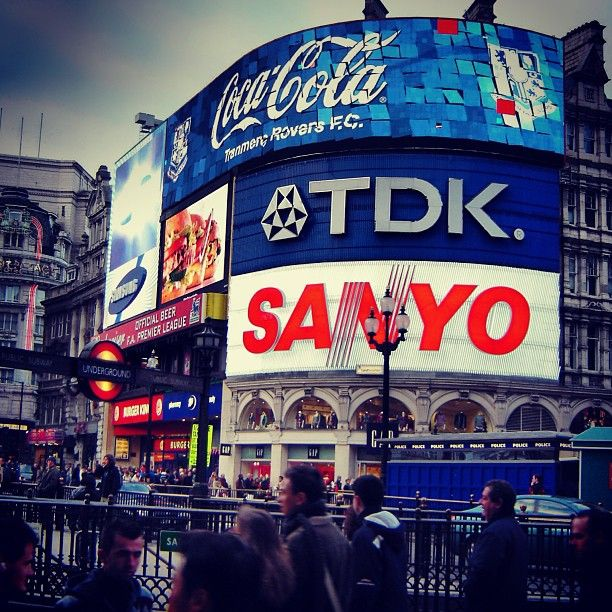 Piccadilly Circus i London, Greater London