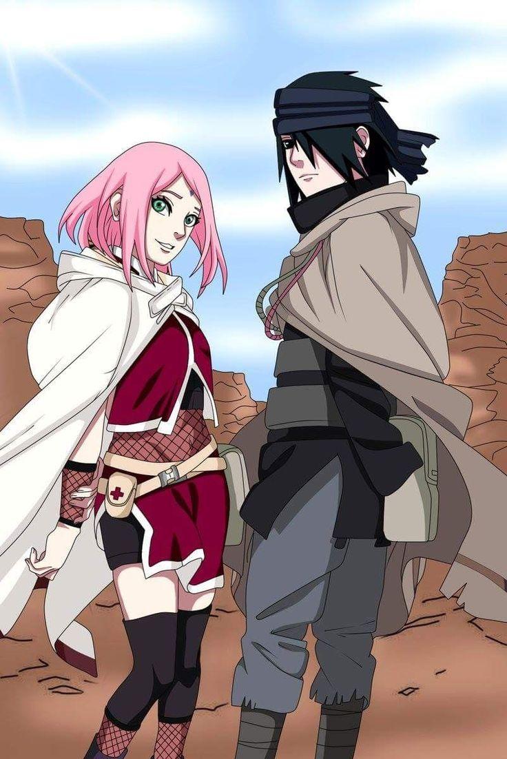 Pin by Mirian L. on Anime & Cartoons Sakura, sasuke