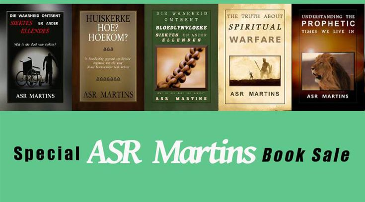 ASR Martins Book Specials!