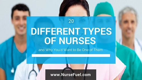 Learn about the different types of nurses...and which nursing specialty is right for you. Includes salary and educational requirements.