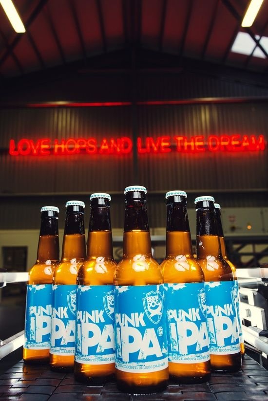 Brewdog -BrewDog are Scotland's largest independently owned brewery producing about 120,000 bottles per month for export all over the world
