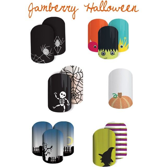 We have some awesome Halloween wraps, order yours I time for Halloween. Link on my bio, or email me your order for #FREESHIPPING rachelsjamily@gmail.com which one is your favorite?? #Jamberry #nails #nailart #nailswag #Nontoxic #latexfree #glutenfree #awesome #love #fun #easy #motherdaughter #canada #USA #AUS #NZ #freesample #yyc #f4f #pumpkin #Halloween #spider #monster