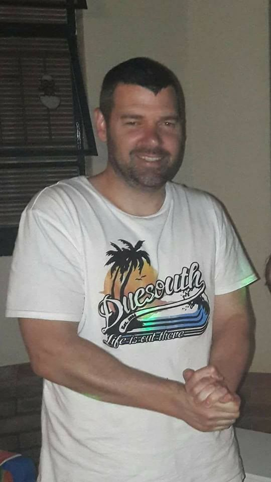 Missing person. Please share. Paul Landman. 39 years old. Missing since Monday 13 March 2017 with his vehicle. Dark blue Ford Fiesta CP83CFGP. Left home at Radiokop Roodepoort, around 6:00 for work but never arrived.  Please phone SAPS if spotted. 011699 1333.