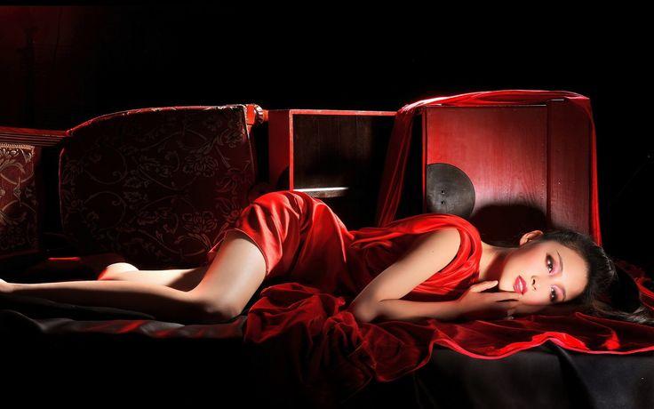 Girl In Red Beautiful