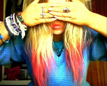 rings + hair= beauty