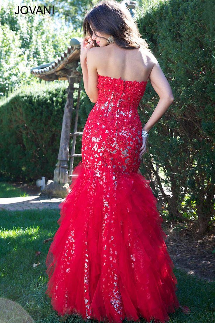Mermaid Jovani Prom dress