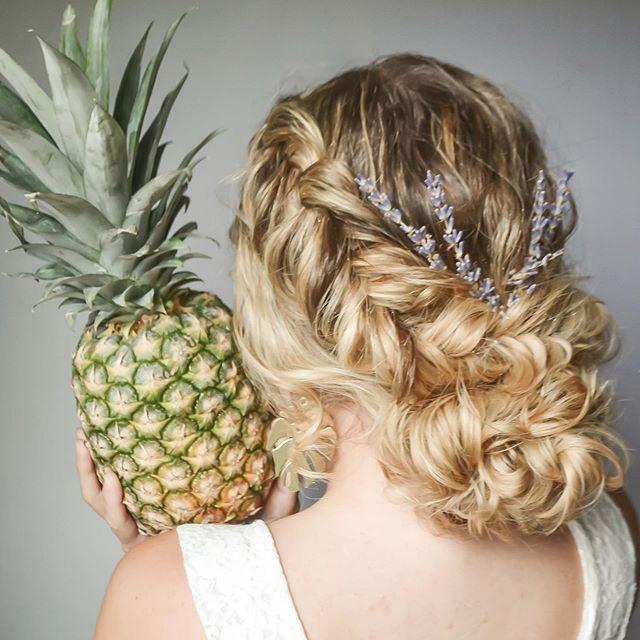 Thebritttt Ananas Frisur Naturliche Frisuren Haar Styling