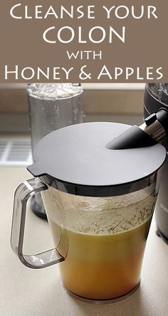 Ingredients: -1 Apple -1 tablespoon of ground flaxseed -1 tablespoon of chia seeds -1 teaspoon of honey -a cup of water Method of preparation: Cut and slice the apples then put them in the blender with the other ingredients, without chia seeds. Put the mixture into a glass, add chia seeds and mix well for 2 minutes. Drink it immediately. It's recommended to consume this preparation twice a day, one glass in the morning and one glass in the evening.