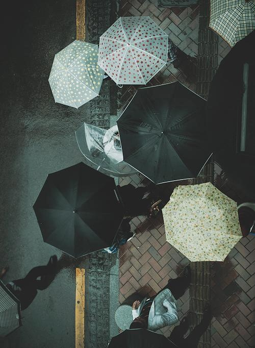 Cuando llueve comparto mi paraguas, si no tengo paraguas, comparto la lluvia.