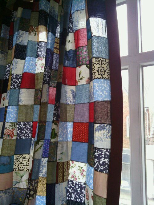 Best 25 Patchwork curtains ideas on Pinterest  Quilted curtains Vintage curtains and Gypsy