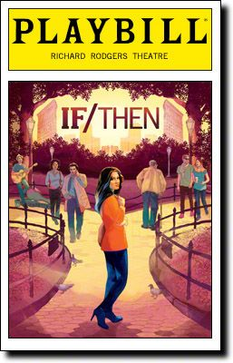 If/Then, starring Idina Menzel, begins previews tonight at Broadway's Richard Rodgers Theatre