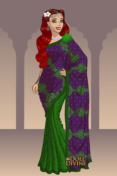 Doll Divine - Dress Up Games Ariel Sari  Disney Geisha -4378