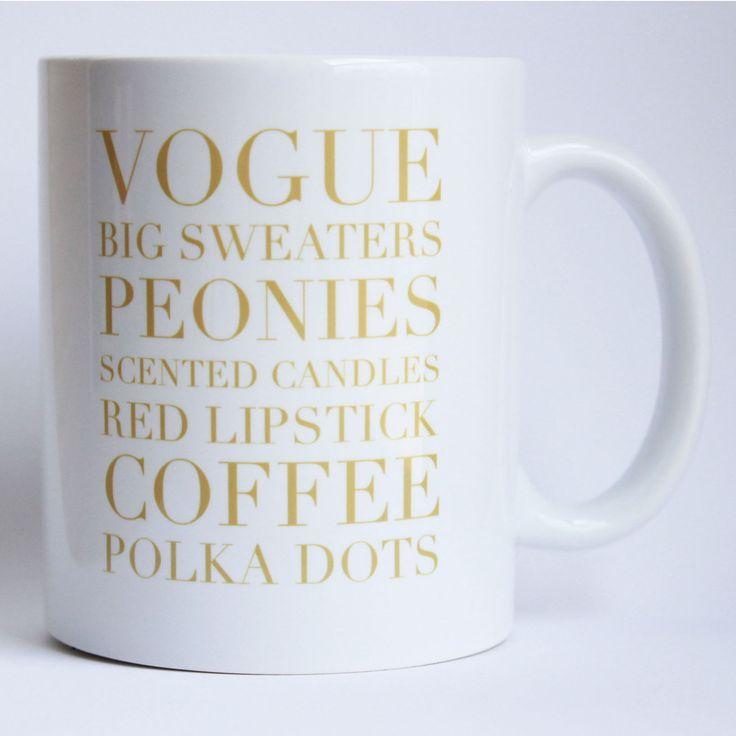 Cute mug #vogue #caneca #frase