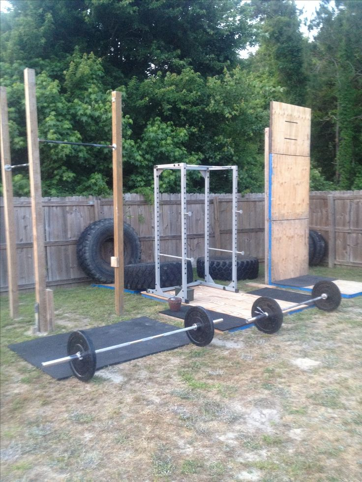 Home gym, make a gym not excuses. When you are dedicated you find a way to train. With a home crossfit gym you can say we are always at the gym.....
