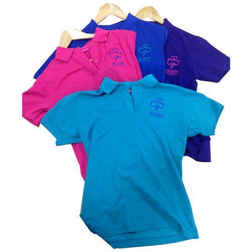 Girl Guides Coloured Polos