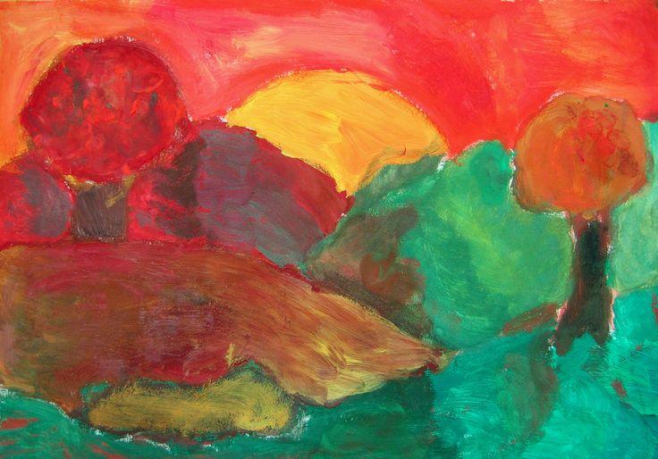 BARVY V PODZIMNÍ KRAJINĚ, 8, ročník, 10/2007