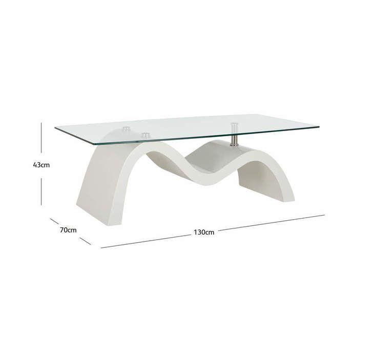 Wave Coffee Table Fantastic Furniture