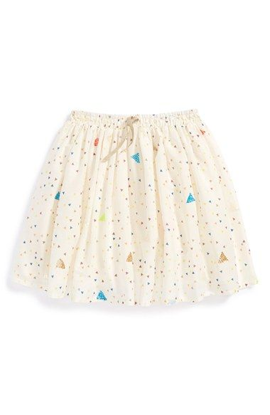 Billieblush+'Geometric+Glitter'+Poplin+Skirt+(Little+Girls+&+Big+Girls)+available+at+#Nordstrom