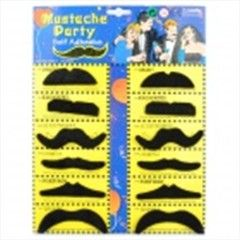 Stylish Costume Artificial Mustache (Assorted 12-PCS)