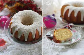 Кокосовый кекс с кокосовой глазурью - HAPPYFOOD