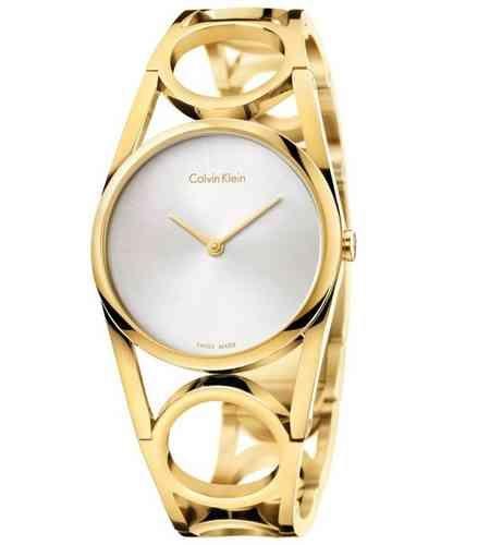 Relojes Calvin Klein mujer Round K5U2M546 PVP 286,00€. enriqueesteverelojeria.es