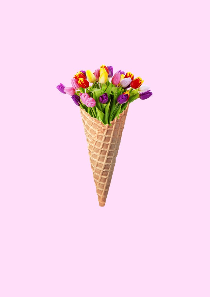 My version of the other flower icecream. Made in Photoshop ...