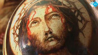 Wel eens 'n kunstwerk op een paasei gezien? Mariusz tovert de meest bijzondere religieuze afbeeldingen op eieren... Bekijk het op NPO Spirit!  http://www.spirit24.nl/#!player/index/program:53465153/group:37200368